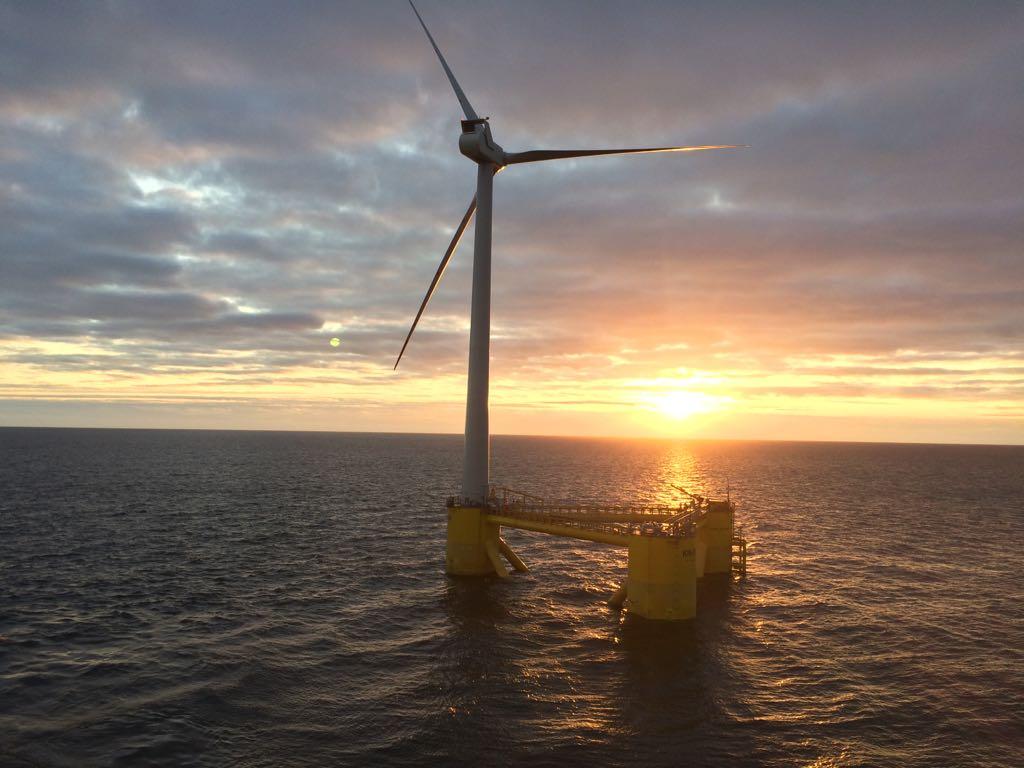 Empresa se diz orgulhosa de ter as turbinas eólicas mais poderosas instaladas em uma plataforma eólica offshore. (Divulgação/Grupo Tigre)