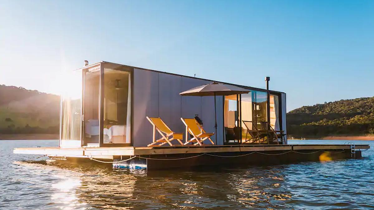 Casa Flutuante em São Paulo é Ecologicamente Correta e Autossuficiente