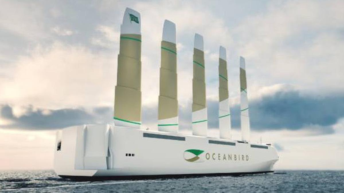 Suécia Cria primeiro Navio Cargueiro Movido a Energia Eólica