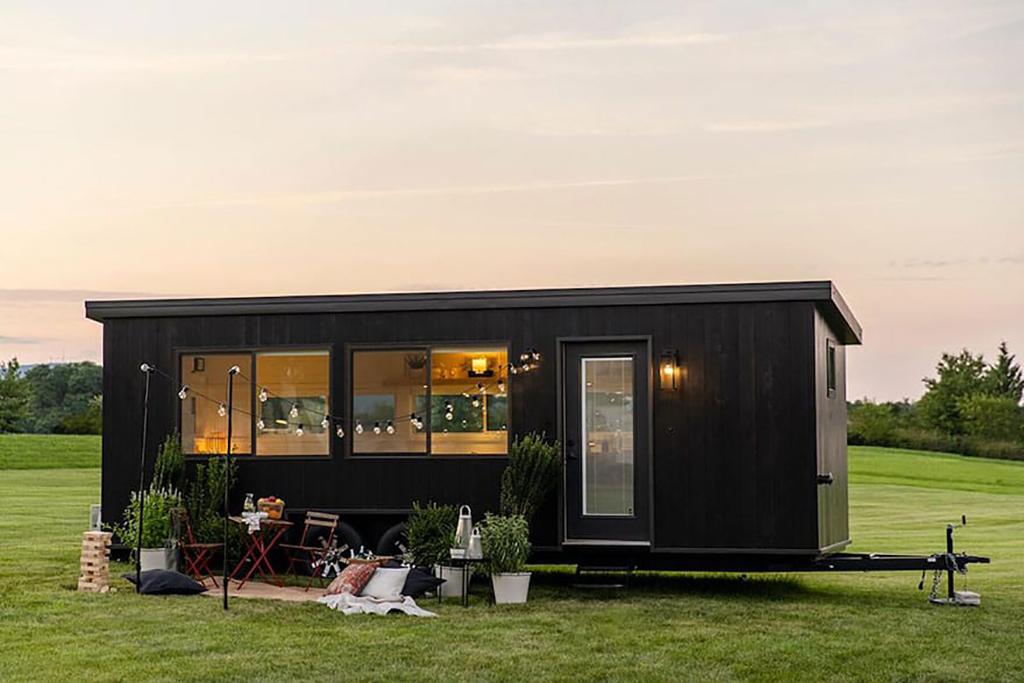 mini casa sustentável