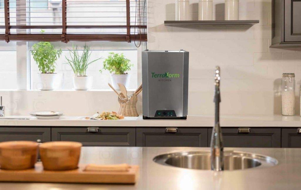 Composteira elétrica promete reduzir em até 90% o lixo orgânico produzido em casa. (Divulgação/Terraform Kitchen)