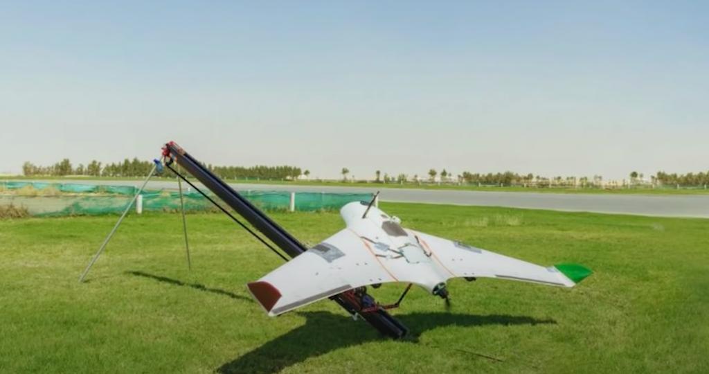 lancamento do drone que faz chover
