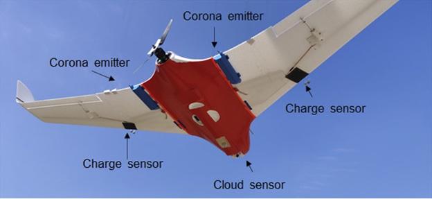 detalhes do drone que faz chuva