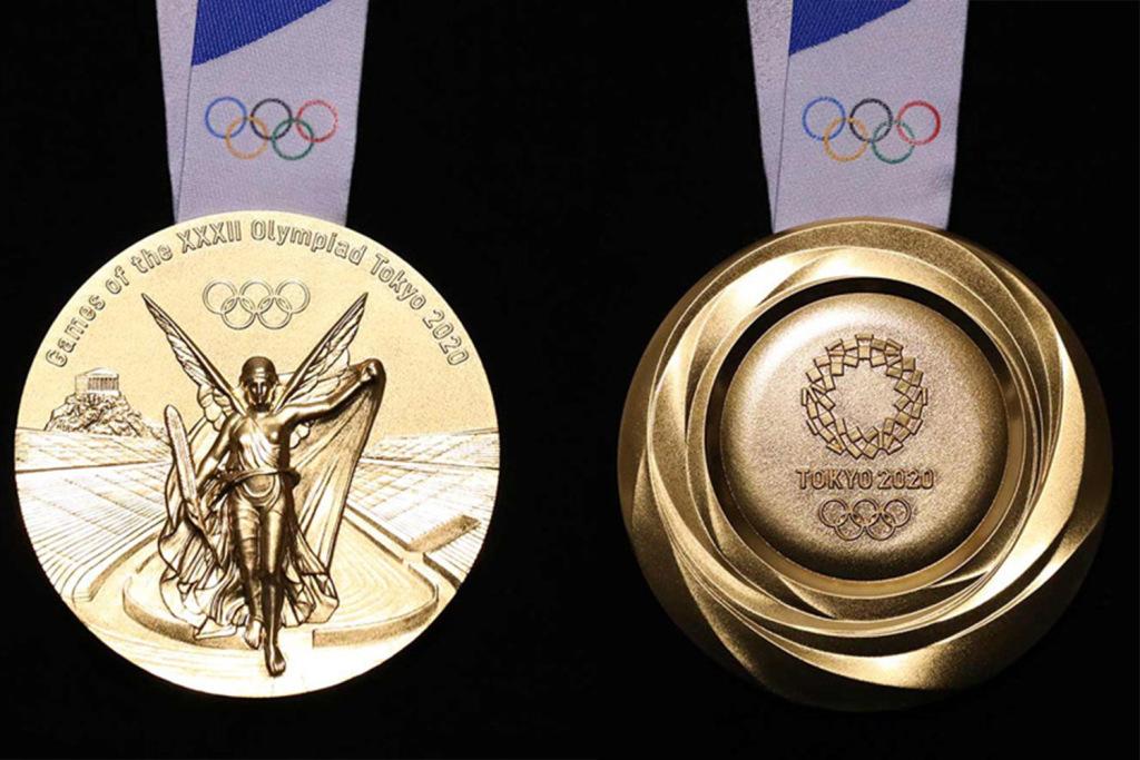 medalha toquio 2020 lixo eletronico reciclado