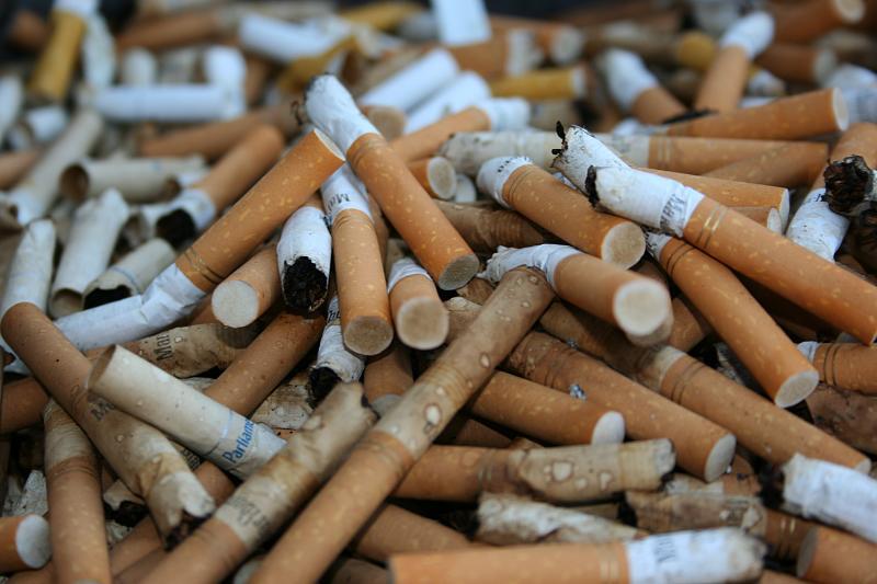 Bitucas de cigarro